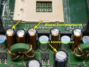 Blogi kondensatoriai