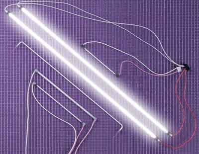 LCD ekrano apšvietimo lempa